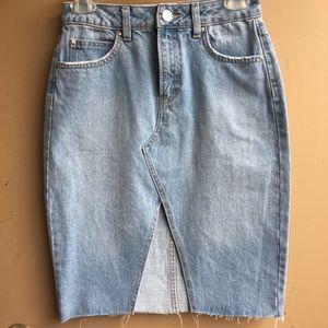 Denim  Skirt Refuge Size XS NWOT